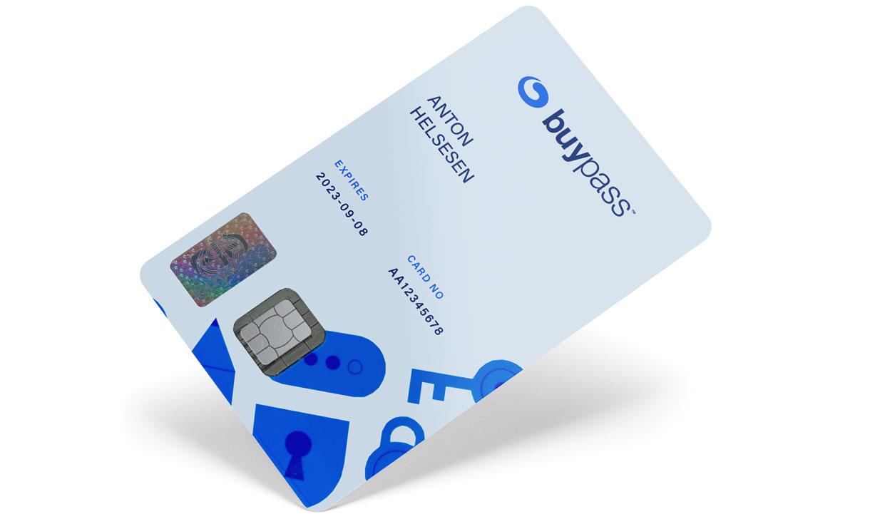 Bestill eller forny smartkort
